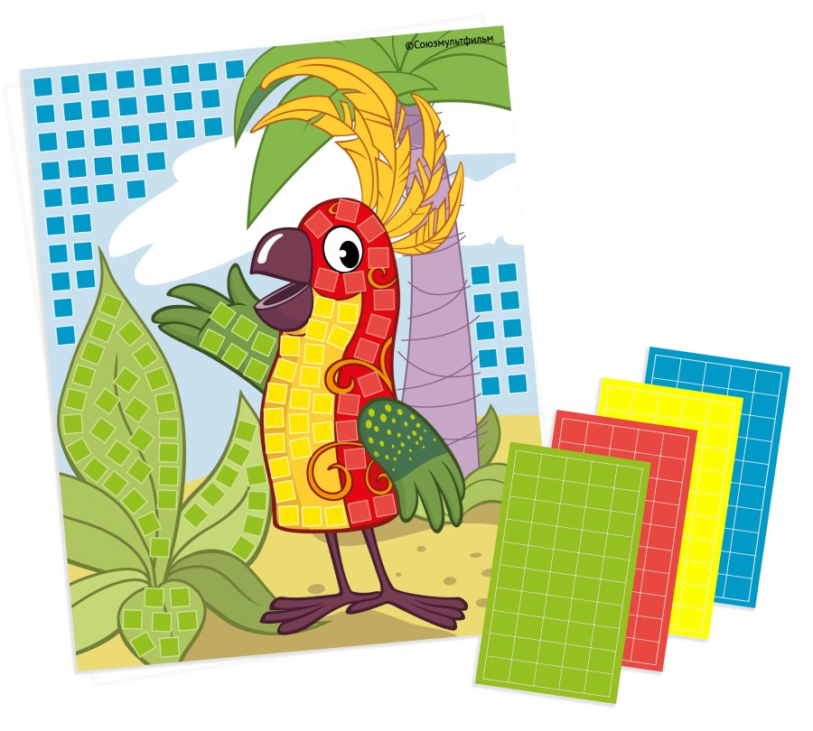 Аппликация «38 попугаев» (арт. 02921) — внутри