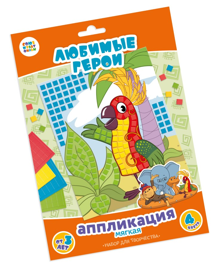 Аппликация «38 попугаев» (арт. 02921)