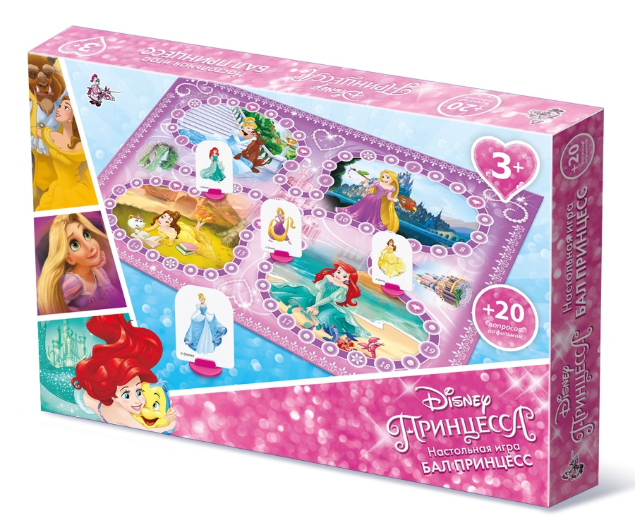 Настольная игра-ходилка Бал принцесс