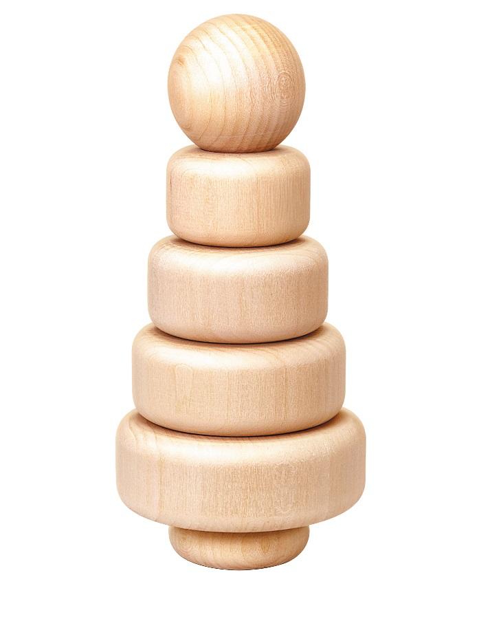 Деревянная пирамидка Эко-4