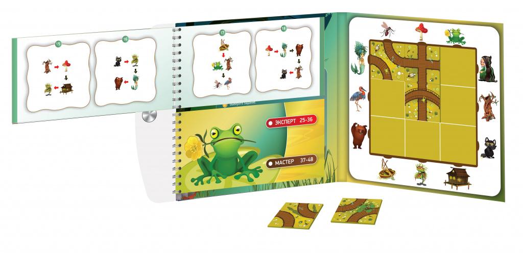 Магнитная головоломка «Десятое королевство. Загадки болота»