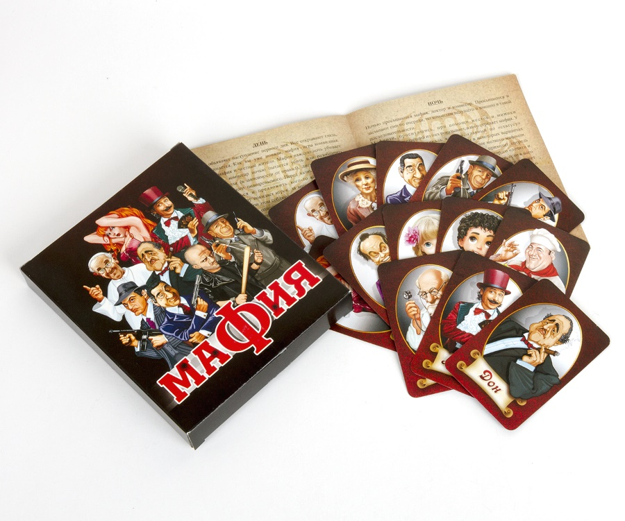 Мафия карточная игра