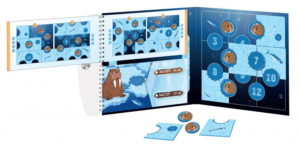 Магнитная головоломка «Ледоход. Арктическое приключение»