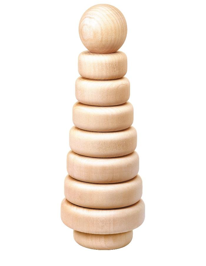 Деревянная пирамидка Эко-7