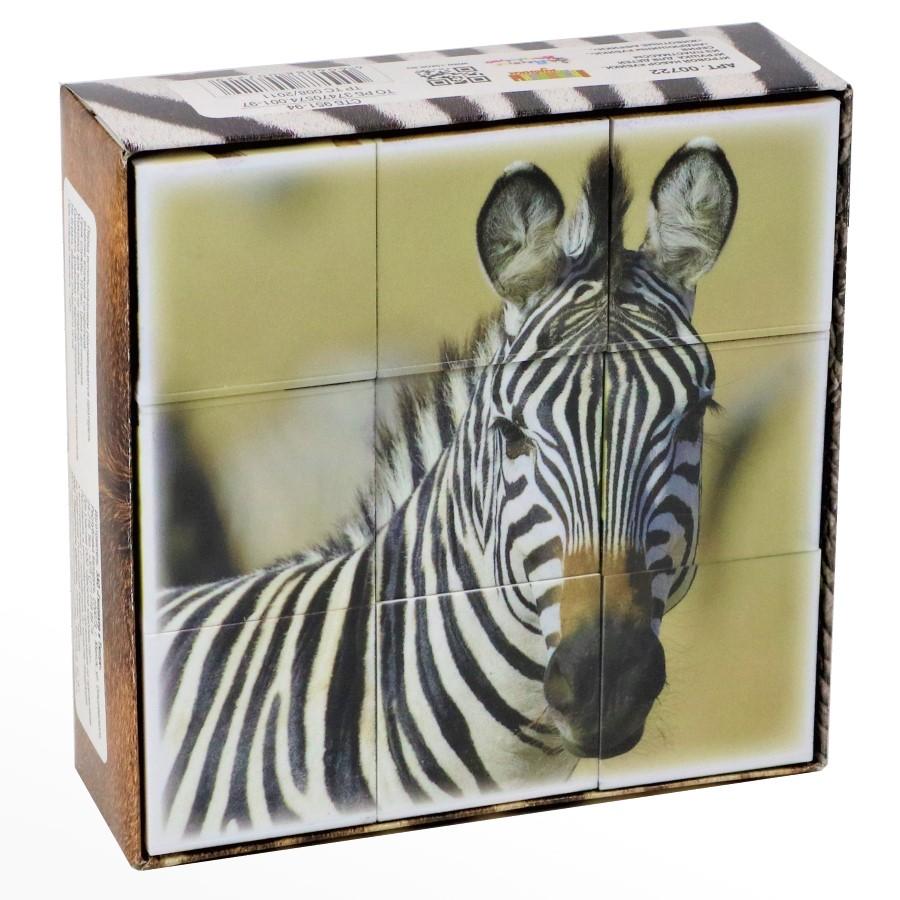 Кубики пластмассовые 9 штук