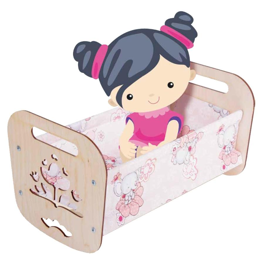 Кроватка для кукол «Катюша» - Apoi.ru